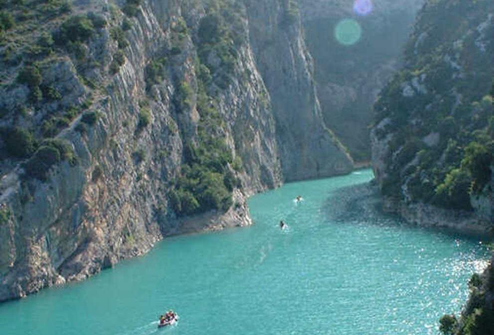 nap voyage lac esparron