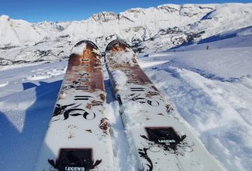Ski à Risoul - Vars