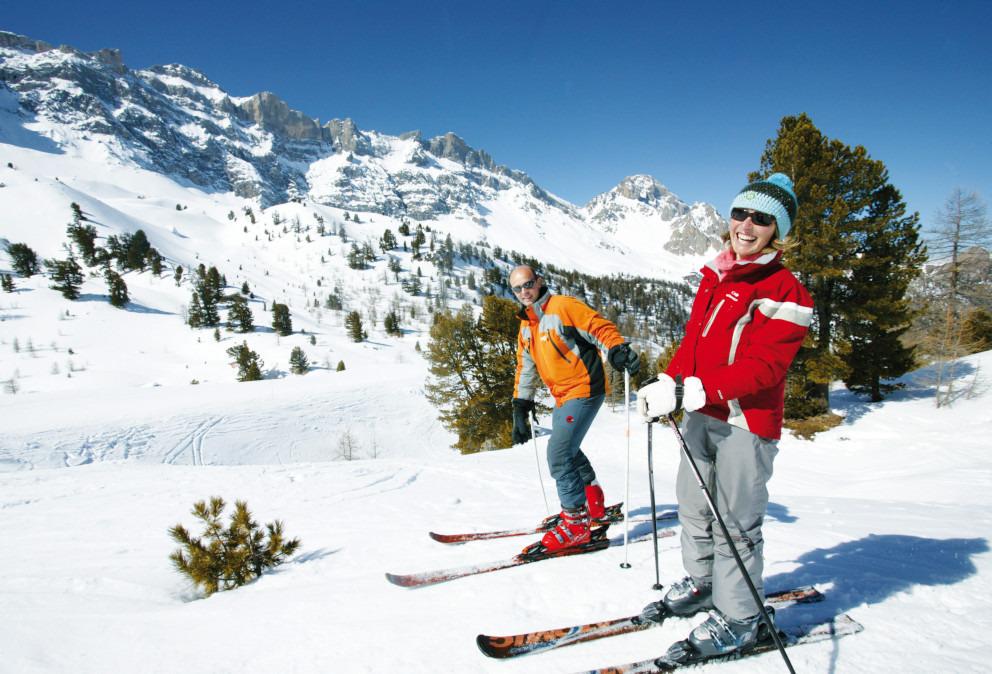 journée ski aux orres