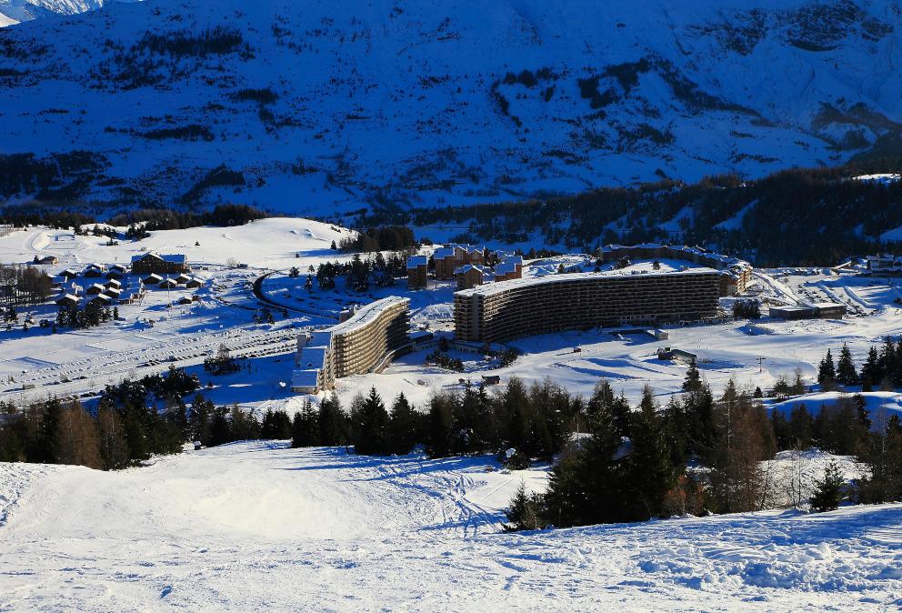 week end ski nap