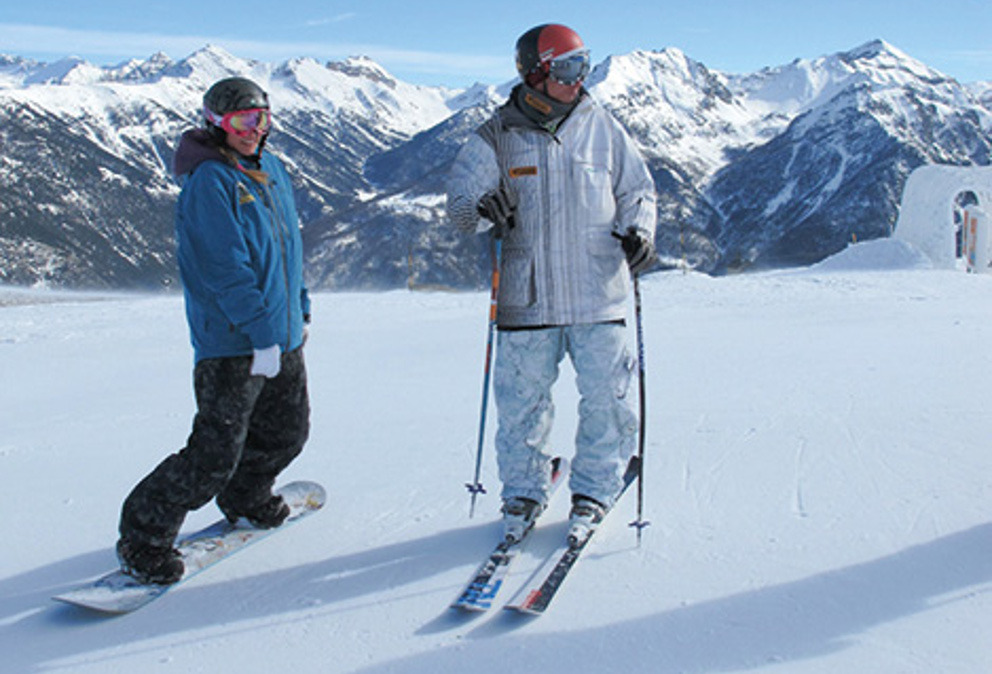 journée ski a Pra Loup